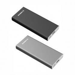 Carregador Power Bank  bateria portátil METAL 6800mAh Personalizado