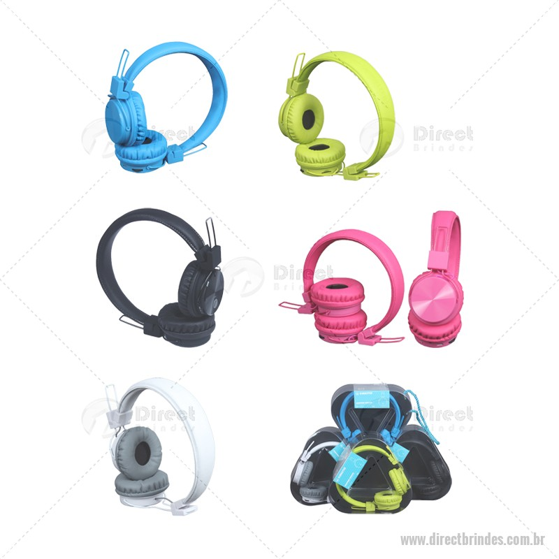 Fone de Ouvido Headphone Bluetooth Wireless KIMASTER Personalizado Barato