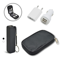 Kit Carregador Power Bank Bateria Portátil e Adaptadores Personalizado