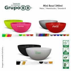 Mini Bowl 240ml Personalizado Barato
