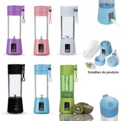 Mix Mini Liquidificador Portátil 380ml Personalizado Barato