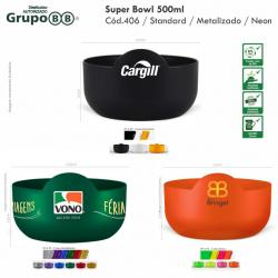 Super Bowl 500ml Personalizado Barato